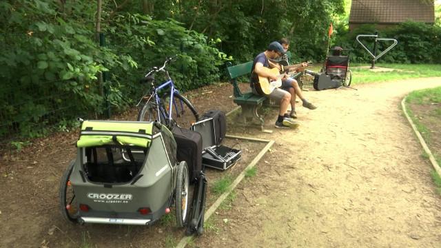 """""""Barnill Bike Tour"""" : une tournée de concerts à vélo"""