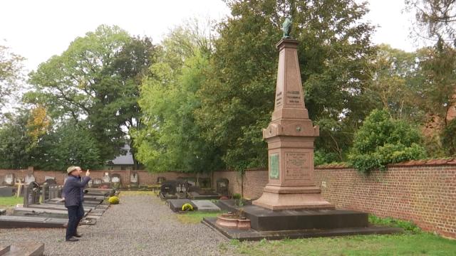 Cimetière du centre à Waterloo , le cimetière des familles patriciennes