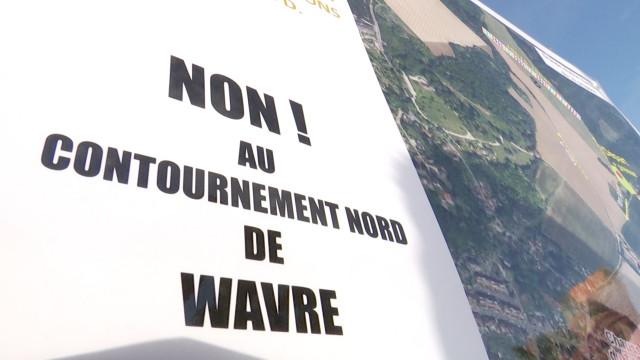 """""""Coup de couteau"""" pour les uns, nécessité pour les autres : le monde politique réagit au contournement Nord de Wavre"""