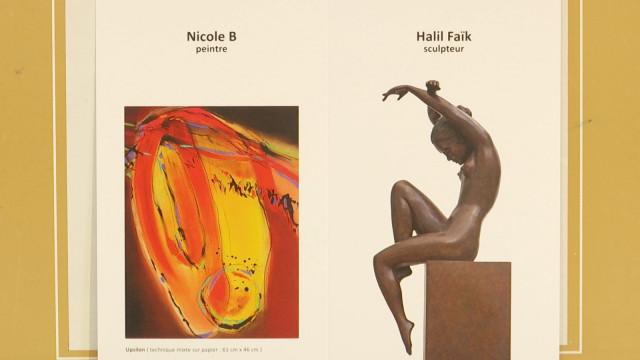 """À découvrir !  L'expo """"DIALOGUE"""" de Nicole B et Halil Faïk"""