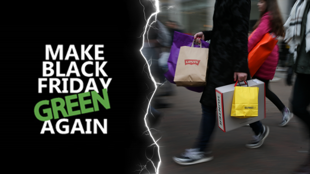 """Green Friday"", l'anti-Black Friday s'organise chez les commerçants"