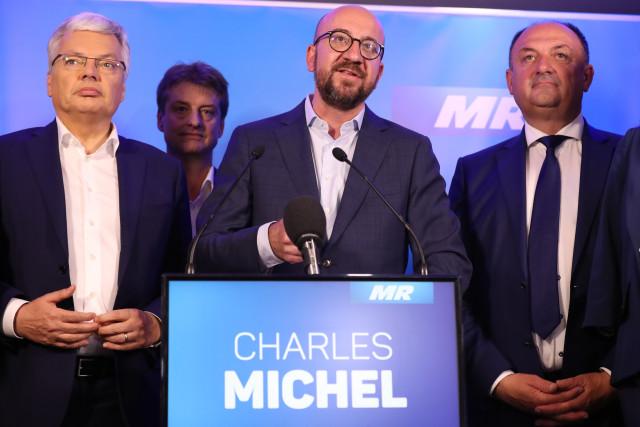 """Charles Michel : """"La famille libérale bataille pour être la première force politique du pays"""""""