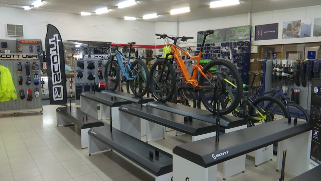 La vente de vélos en augmentation, les rayons de chez Koob vides !