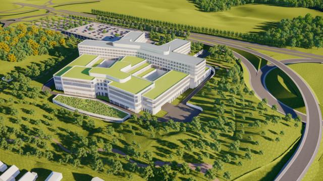 Le projet de nouvelle clinique Saint-Pierre à Wavre dévoilé