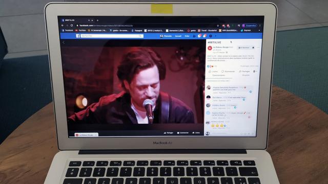 #RRTVLive : le Rideau Rouge lance les dîners-concerts à domicile