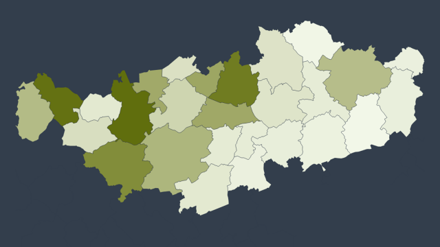 1.234 cas de COVID-19 confirmés en Brabant wallon : la carte des communes