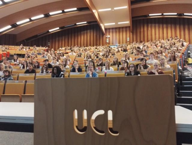 Rentrée universitaire : hausse des inscriptions à l'UCL !