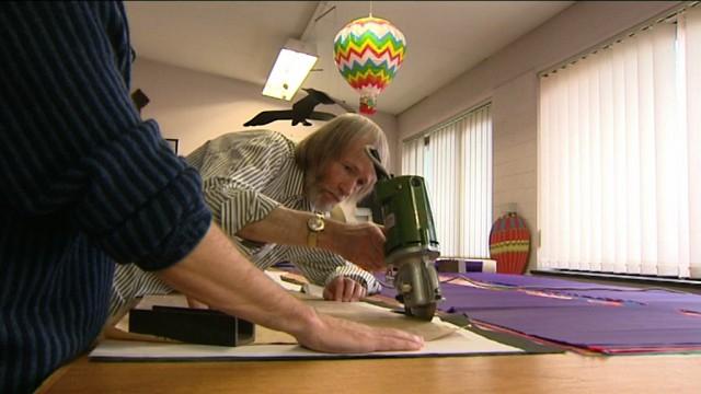Comment fabrique-t-on une montgolfière ?