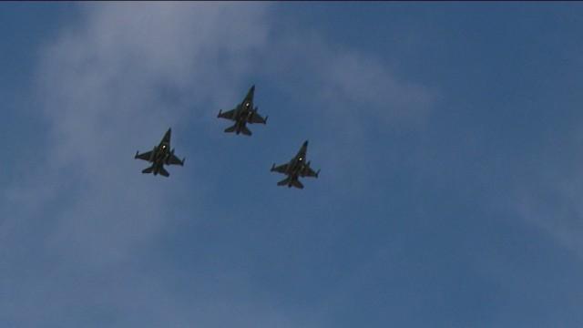 Beauvechain : 8 pilotes décorés