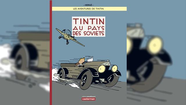 testTintin au pays des Soviets en couleurs
