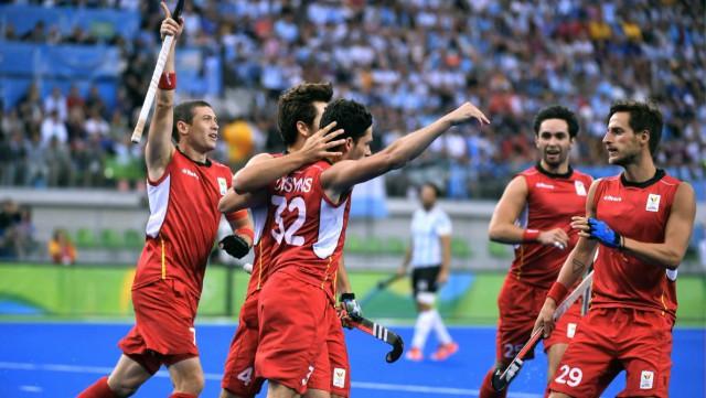 testHockey : Replay Belgique vs Argentine