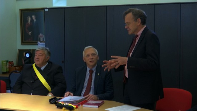 Le Gouverneur en visite à Ittre