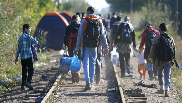 Wavre : des élèves sur la route des réfugiés
