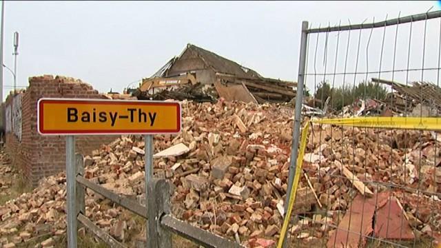Le Palladium détruit à Baisy-Thy : la vidéo