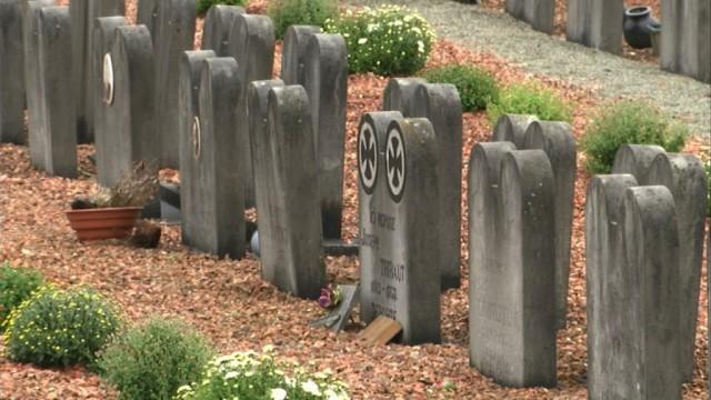 Toussaint : visite du cimetière de Rebecq