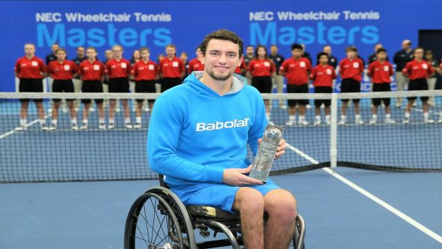 Joachim Gérard, tenant du titre, est en demi-finales aux Masters
