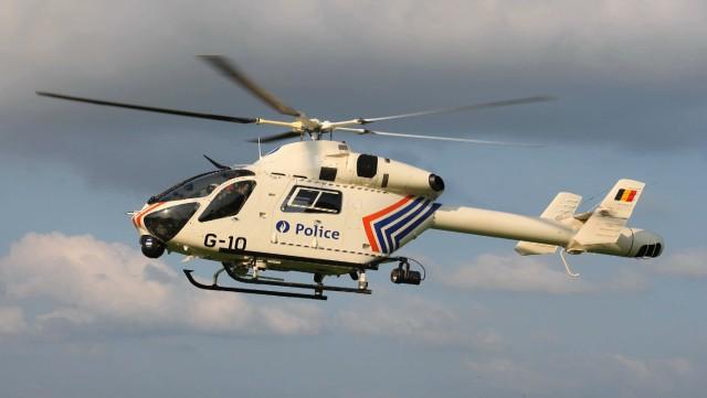 Grez-Doiceau : grosse intervention policière avec hélicoptère