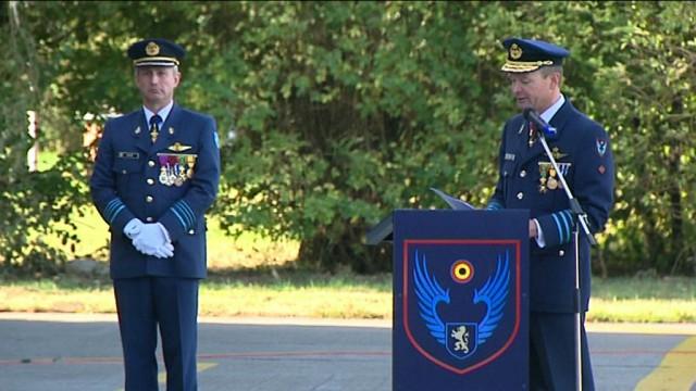 Nouveau chef de corps au centre de compétence de la Base de Beauvechain