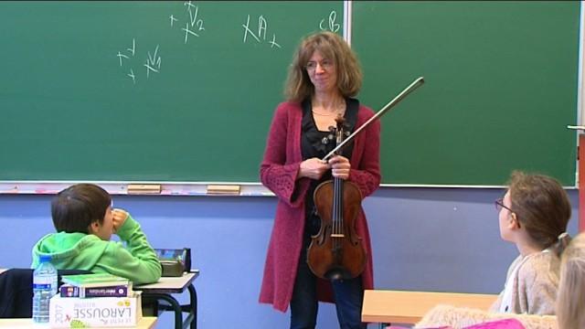 La musique classique s'invite dans les écoles de Lasne