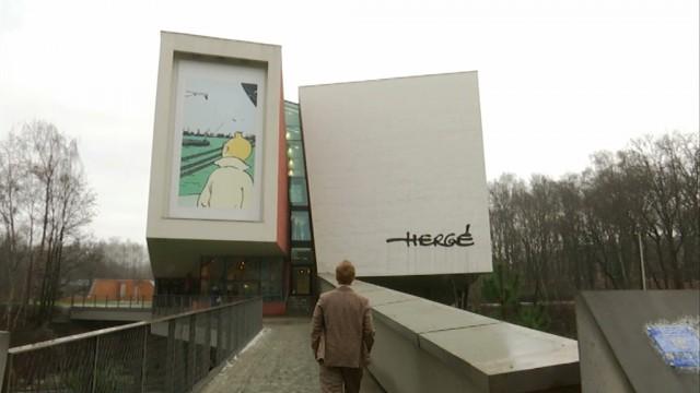 LLN : Tintin en visite au Musée Hergé