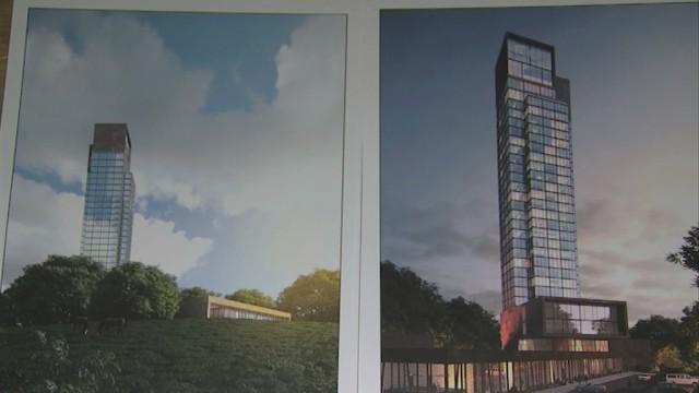 Le projet d'hôtel de 120 mètres déchaîne les passions à Wavre