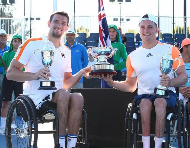 Joachim Gérard remporte l'Open d'Australie en double