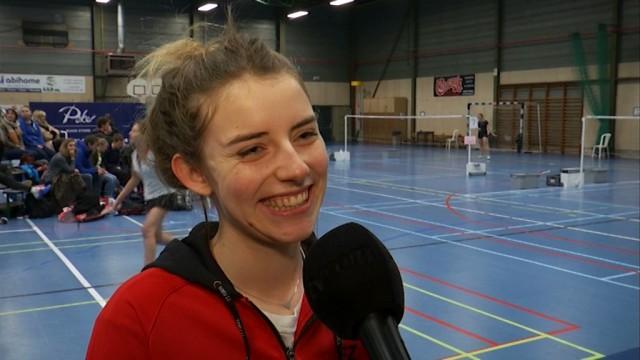 Badminton : Clara Lassaux, 3e des Championnats nationaux, rêve des Jeux olympiques