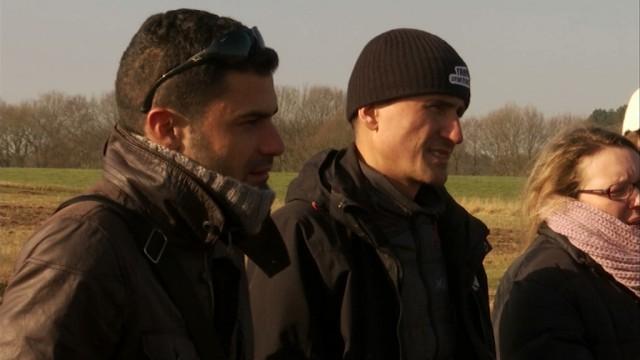 Des agriculteurs grecs, bulgares et slovaques en visite à Nethen
