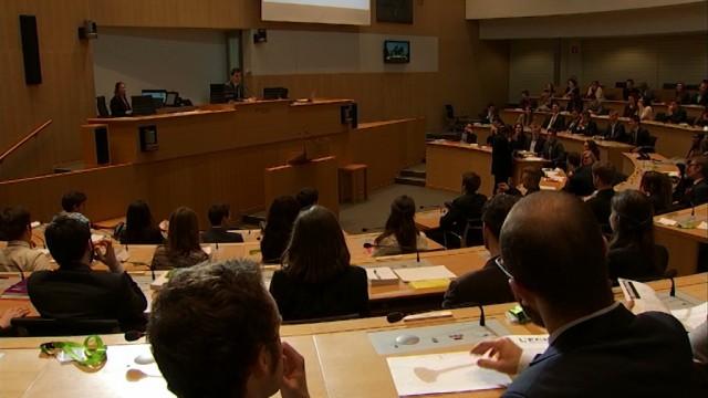 Le Président du Parlement Jeunesse est Stéphanois