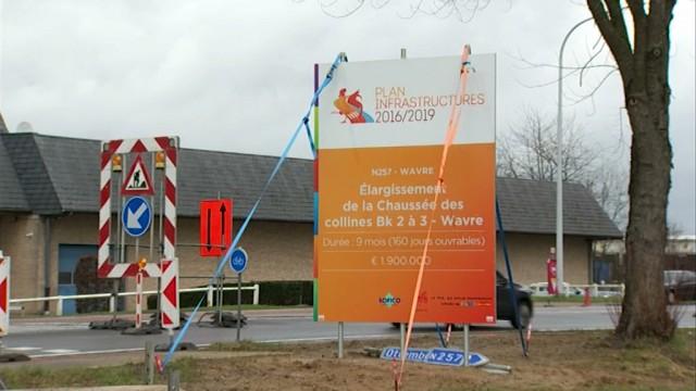 Les travaux ont débuté dans le zoning Nord de Wavre !