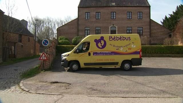 Un bébébus dès lundi à Beauvechain, Incourt et Chaumont-Gistoux