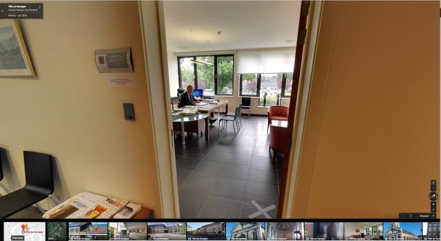 Inédit : une visite virtuelle des services communaux de Genappe !