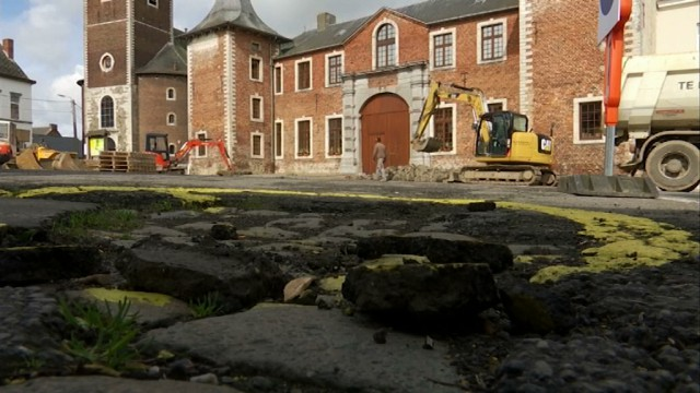 Jauche : la place est enfin en cours de rénovation