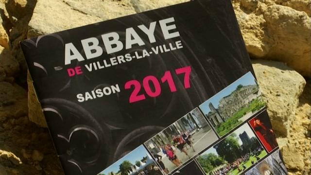 Le programme de la saison 2017 de l'Abbaye de Villers