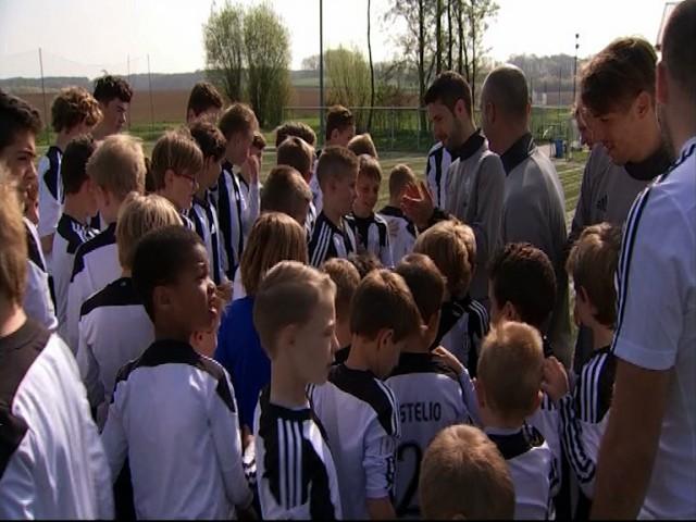 testDes entraîneurs italiens à Grez-Doiceau pour le Juventus Camp