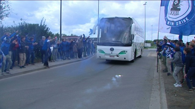 Nous avons suivi les Ruligans de Lasne-Ohain avant la finale de Coupe de Brabant !