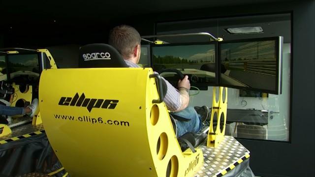 Exype, des sensations intenses dans un simulateur auto unique en Belgique