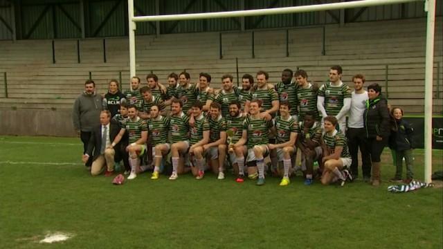 Le Rugby Club La Hulpe remporte la Coupe de Belgique !