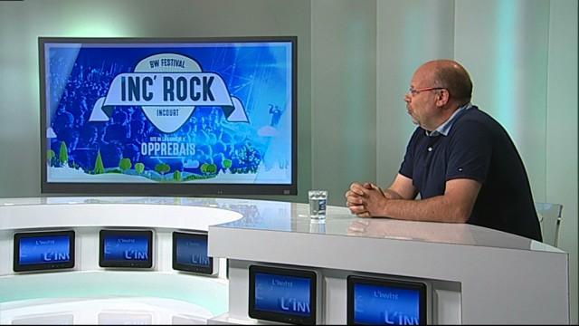 L'invité : Benoit Malevé - Inc'Rock Festival