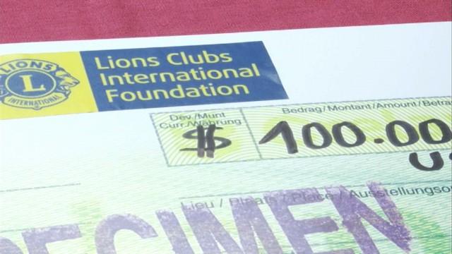 Un don de 100 000 euros pour l'ASBL Le Logis de Genval