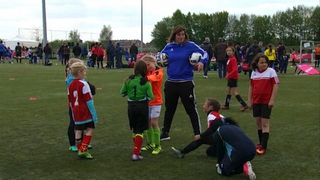testLa FootFest Cup à Tubize, symbole du boom du foot féminin