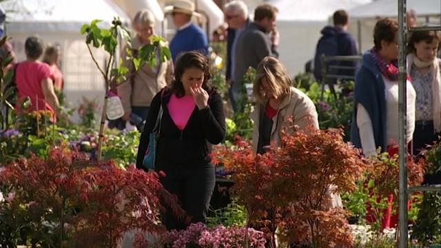 8000 personnes à Hélécine pour Jardins en fête