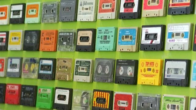 DADDY K7, des nostalgiques de la cassette audio au Festival En l'Air