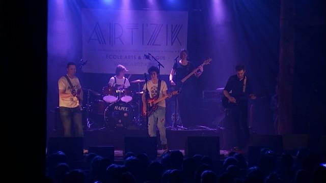 Les élèves d'Arti'Zik en concert à la Ferme du Biéreau de Louvain-la-Neuve