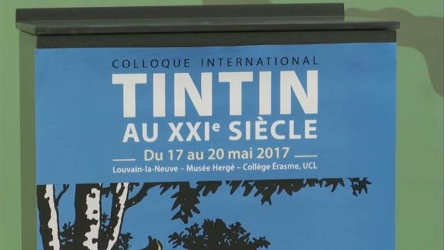 Tintin au XXIe siècle à Louvain-la-Neuve : la science s'empare de l'oeuvre de Hergé