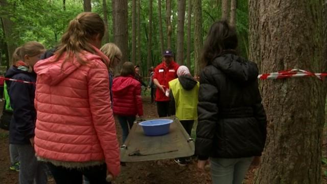 500 écoliers du Brabant wallon découvrent le travail de la Croix-Rouge