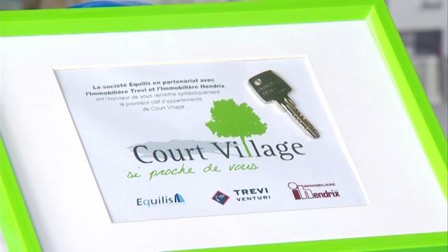 Court-Village: les premiers habitants arrivent!