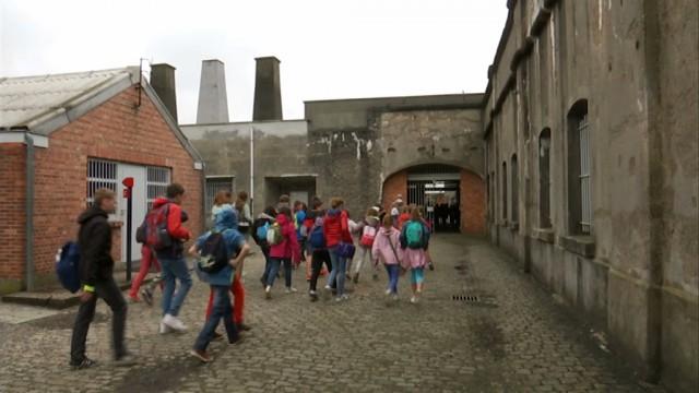 Des jeunes élèves de Grez-Doiceau au Fort de Breendonk