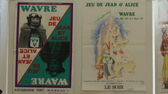 Jeu de Jean et Alice: un moment d'histoire wavrienne