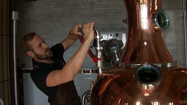 Du gin et du whisky bientôt produits à Waterloo !